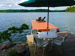 Cottage rental | Rustic Cottage McGregor Lake