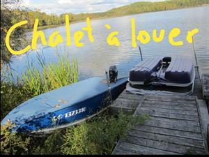 chalets à louer bord de l'eau Gracefield, Outaouais