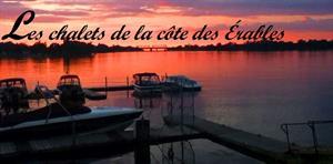 chalets à louer bord de l'eau Desbiens, Saguenay-Lac-St-Jean