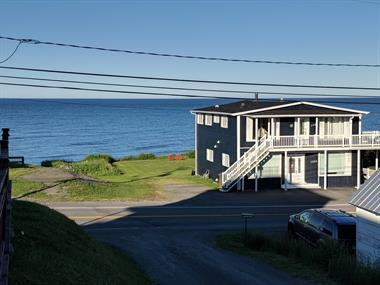 chalets à louer bord de l'eau Gaspé, Gaspésie