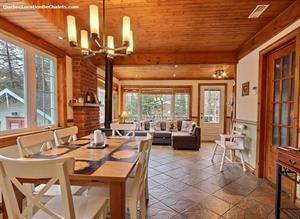 Cottage rental | Juste sur le Lac ! Avec SPA