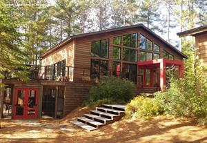 waterfront cottage rentals Grandes-Piles, Mauricie