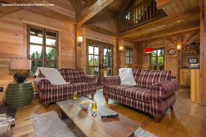 Cottage rental | Chalet L'Everest, SPA, Charlevoiix
