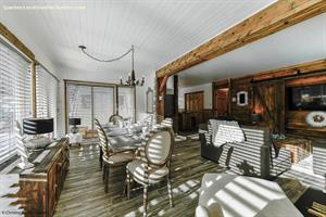ski cottage rentals at the base of a mountain La Malbaie, Charlevoix