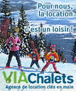 Via Chalets, Agence de location cl�s en main