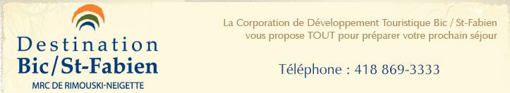 Corporation de développement touristique Bic/Saint Fabien